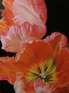 Картини маслом Тюльпани