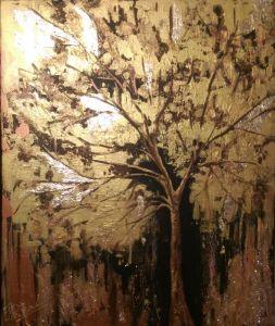 Картины графика Золотое дерево