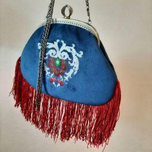 Женские сумки ручной работы Бархатная сумочка