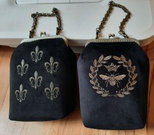 Женские сумки ручной работы Вечерние бархатные сумочки