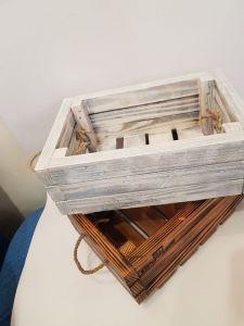 Изделия из дерева ручной работы Декор для дома деревянные ящички в стиле лофт