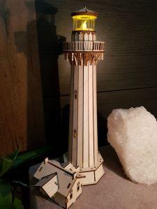 Изделия из дерева ручной работы Маяк-конструктор из дерева 4