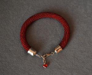 Браслеты ручной работы Красный браслет