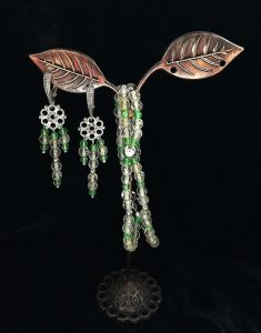 Crafters Комплект прикрас з шпінелі і срібла 925 пр.Літо