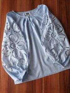 """Блузки вышиванки Вышитая блуза """"Небесная"""""""