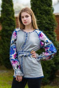 """Блузки вышиванки Вышитая блуза """"Квіткова"""""""