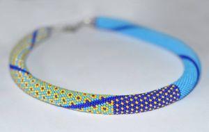 Джгут квітковий жовто-блакитний