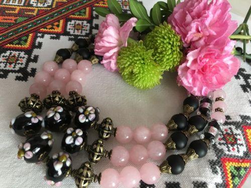 """Ожерелье """"Цвет сакуры"""""""