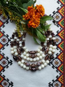 "Beaded necklaces Намисто ""Цісарське"""