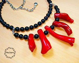 "Ожерелье ""Красное море"""