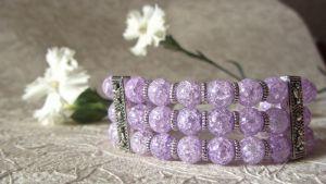 Фіолетовий браслет Бузкове сяйво
