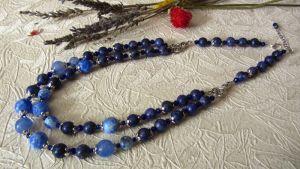 Ожерелья и колье ручной работы Легкое облачко