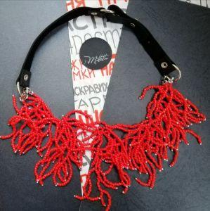 Ожерелья и колье ручной работы Страсть