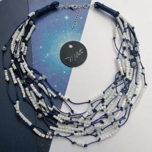 """Ожерелье ручной работы Бусы """"1001"""" узелок"""