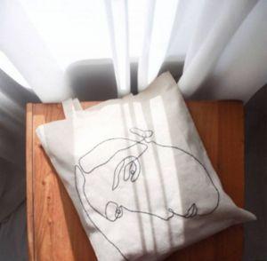 Еко сумка ручної роботи Сумка Evelyn Tote Bag