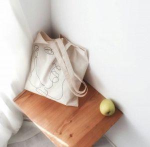 Еко сумка ручної роботи Сумка Henry Tote Bag