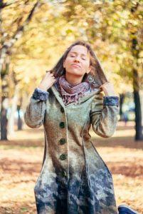 """Пальто """"Відтінки осені"""""""