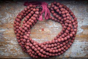 Ожерелье из дерева Деревянное кирпичное
