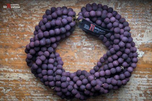 Деревянное фиолетовое