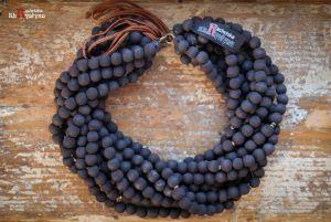 Ожерелье из дерева Деревянное темно-коричневые