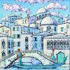 Мечты о Венеции  Холст, масло Радаева Елена - фото 1