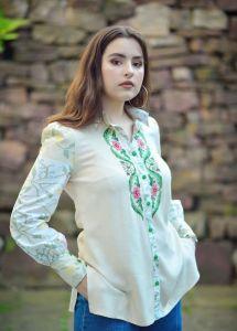 """Вишиті жіночі сорочки ручної роботи Блузка - сорочка """"Прімавера"""""""