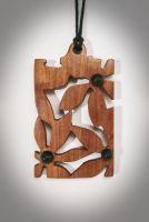 «Квіткова галявина», кулон ручної роботи
