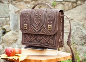 Повседневные женские сумки Вместительная кожаная сумка-портфель на каждый день коричневая через плечо, сумка под планшет