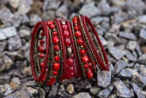 Прикраси ручної роботи Широкий браслет-пружинка