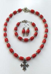 Розпутняк Любовь Керамическое ожерелье