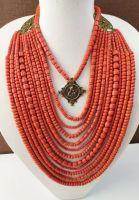 Керамическое ожерелье