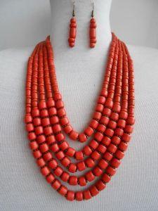 Ожерелья и колье ручной работы Керамическое ожерелье