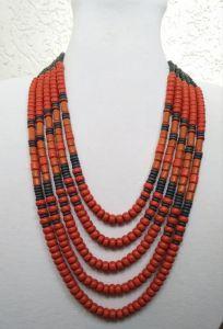 Буси ручної роботи Керамiчне намисто