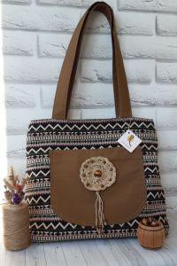 Повседневные женские сумки Большая сумка-шоппер