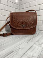 Кожаная сумка, кожаная сумка ручной работы, сумка через плечо, наплечная сумка, кожаная сумка терракот