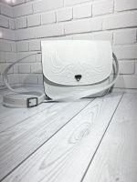 Кожаная сумка, кожаная сумка ручной работы, сумка через плечо, наплечная сумка, кожаная сумка белая