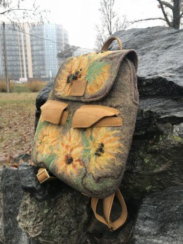 Рюкзак Подсолнухи - изображение 1