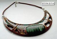Ожерелье-гривна из американского ореха