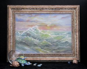 Мальовані картини Солоні бризки