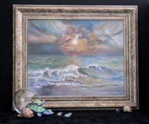 Картины графика Морское умиротворение