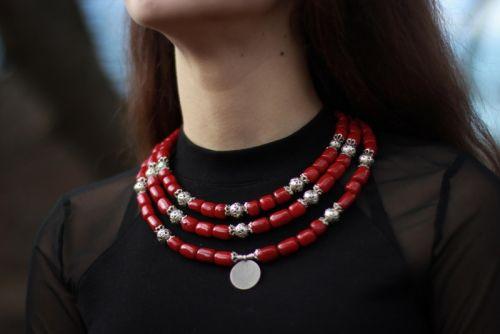 """Ожерелье с монеткой """"Ядвига"""""""