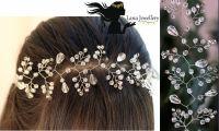 Весільна прикраса на волосся