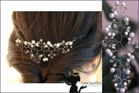 Свадебная позтяжка на волосы