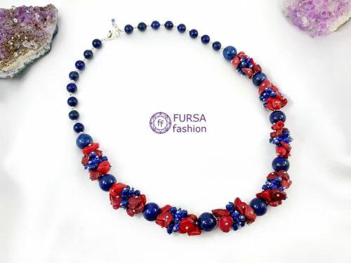 """Эксклюзивное ожерелье """"Камелот"""" 54 см"""