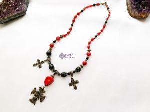 """Ожерелье из кораллов Эксклюзивное ожерелье из коралла """"Мария"""""""