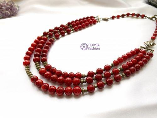 Эксклюзивное ожерелье Коралл Дукач