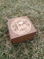 Подарочная коробка для папы