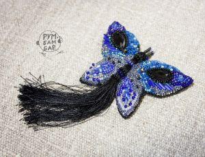 Crafters Брошка синя