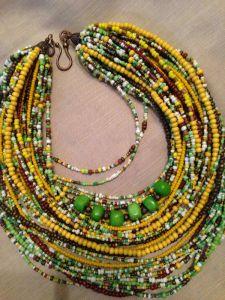 Бохо ожерелье