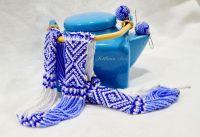 Волошково-синій орнамент